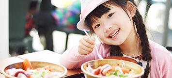 子供達を含めた消費者に、味の教育をすすめていくこと。